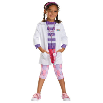 Doc Deluxe Kids Costume 4-6 - Doctor & Nurse Costume Girls Costumes girls