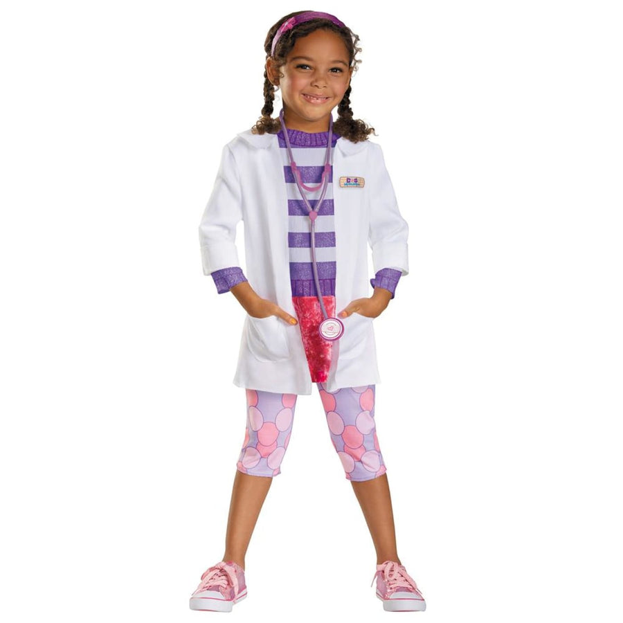 Doc Deluxe Toddler Costume 3T-4T - Doctor & Nurse Costume Halloween costumes