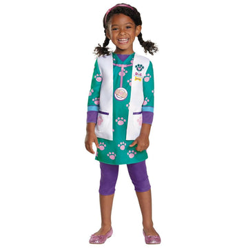 Doc Pet Vet Classic Kids Costume Medium 7-8 - Doctor & Nurse Costume Girls