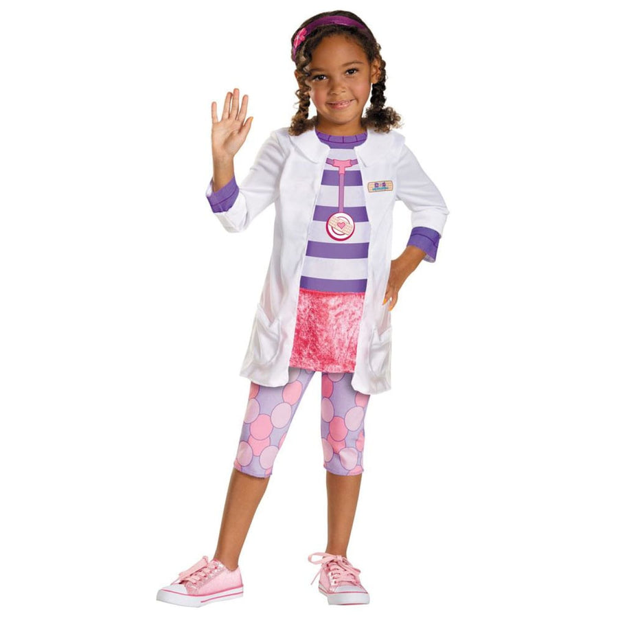 Doc Toddler Classic Toddler Costume 3T-4T - Doctor & Nurse Costume Halloween