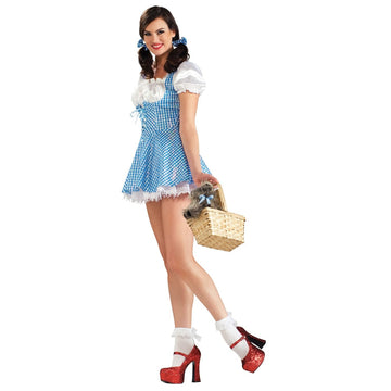 Dorothy Adult Sequin Ex Sm - adult halloween costumes female Halloween costumes