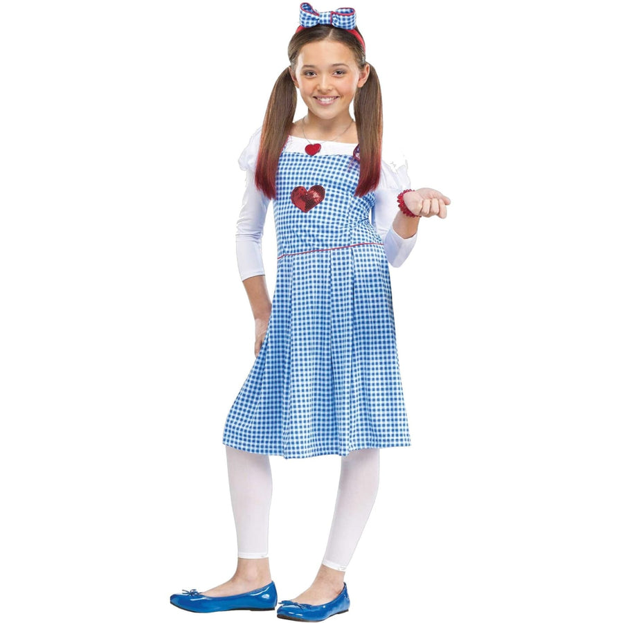 Dorothy Child Costume 4-6 - Girls Costumes girls Halloween costume Halloween