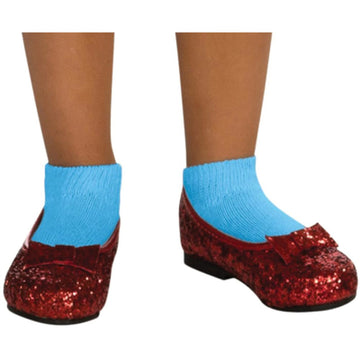 Dorothy Sequin Costume Shoes Child Sm - Halloween costumes Shoes & Boots Wizard