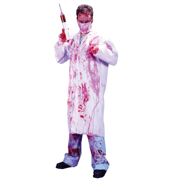 Dr Kill Joy - Doctor & Nurse Costume Mens Costumes Serial Killer Costume