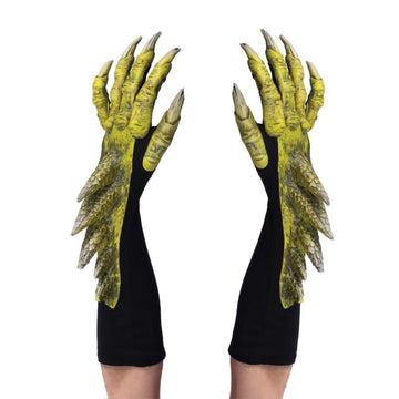 Dragon Green Adult Gloves - New Costume