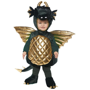 Dragon Green Toddler Costume 2T-4T - New Costume Toddler Costumes