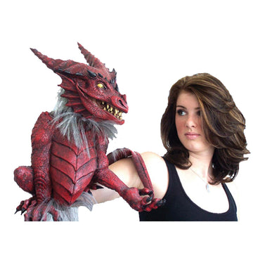 Dragon Puppet - Decorations & Props haunted house decorations haunted house