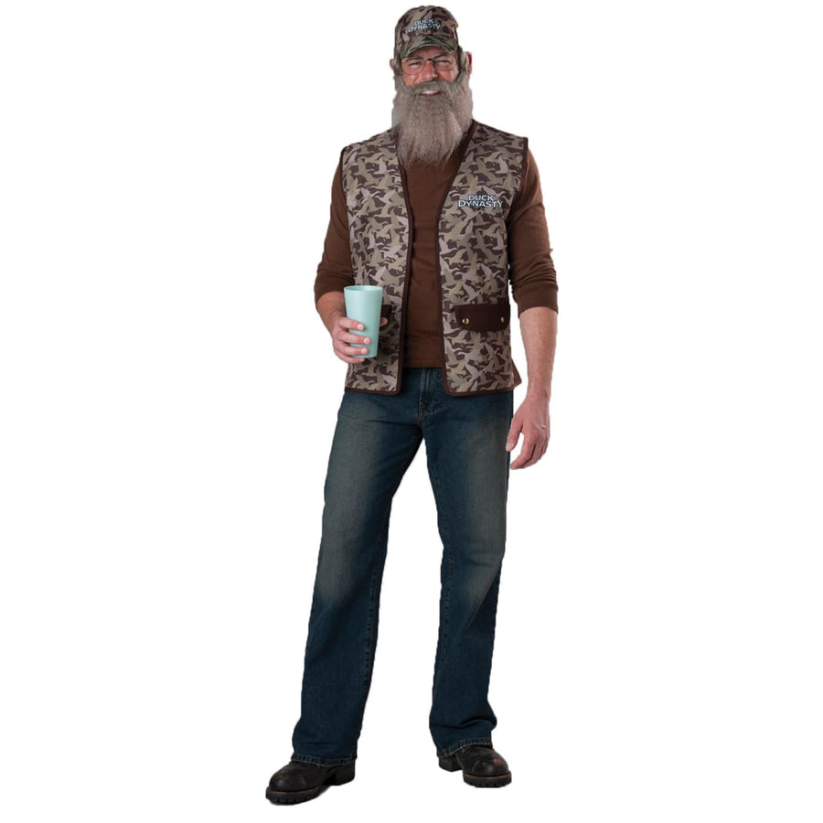 Duck Dynasty Uncle Si Adult Costume - adult halloween costumes Duck Dynasty