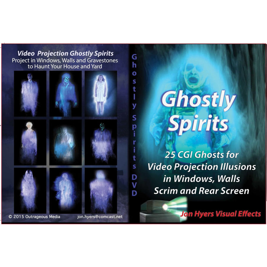 Dvd Ghostly Spirits - Halloween costumes Videos Books & Audio