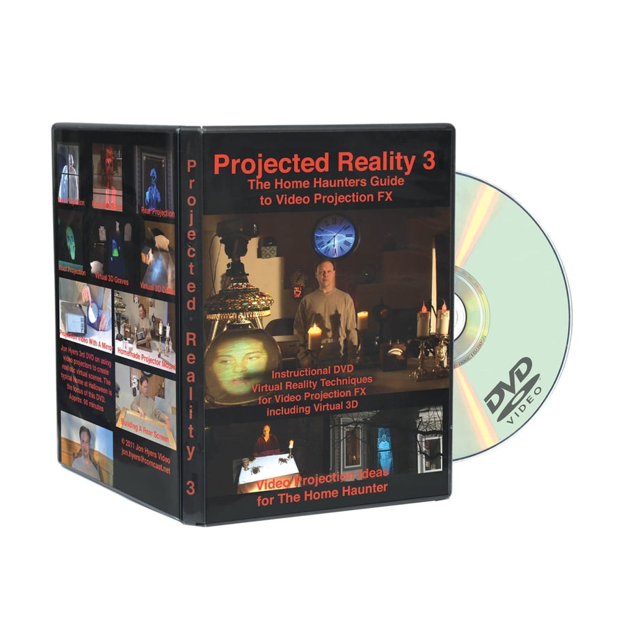 DVD Home Haunters Projected Reality 3D - Videos Books & Audio