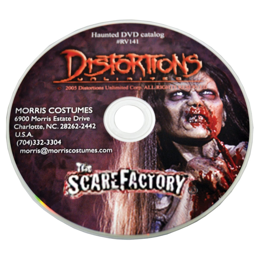 DVD Pneumatic Prop Distortions - Halloween costumes Videos Books & Audio