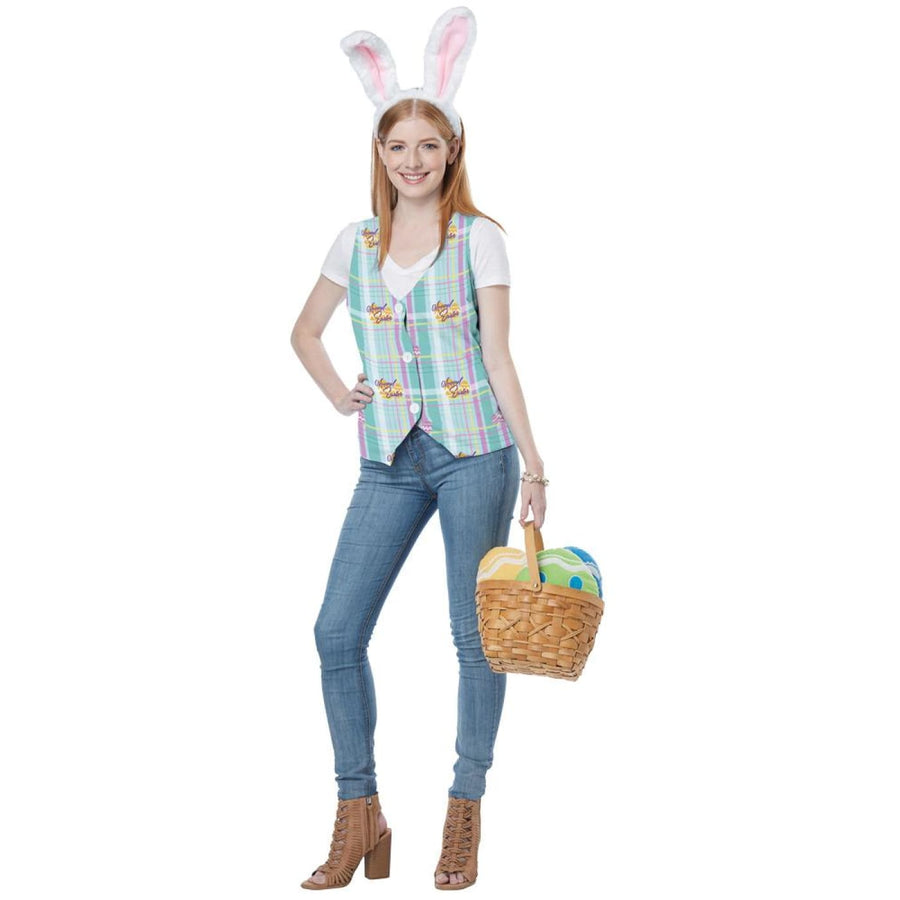 Easter Vest Kit Womans Costume 6-10 - Halloween costumes New Costume