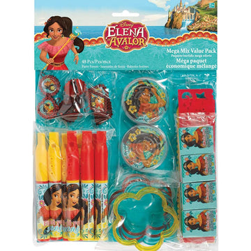 Elena Of Avalor Friendship Party Favors Pack - Birthday Party Decorations