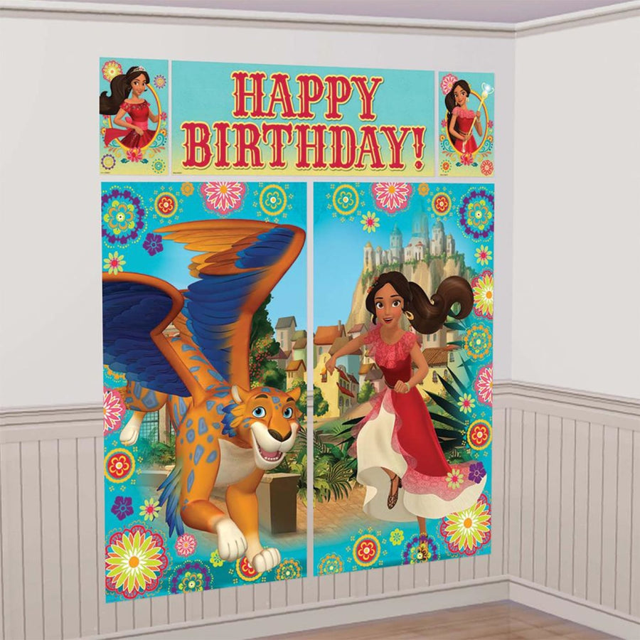 Elena Of Avalor Wall Kit - Birthday Party Decorations Birthday Party Plates