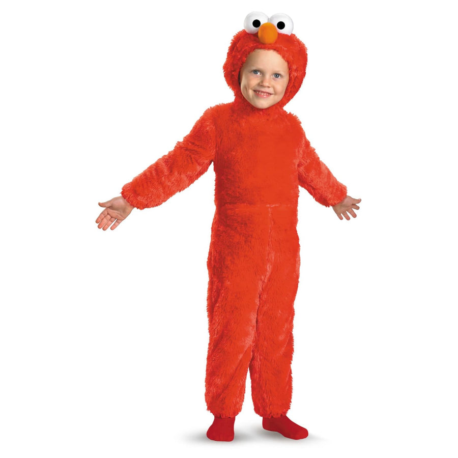 Elmo Toddler Costume 3T-4T - Halloween costumes Sesame Street Costume Toddler