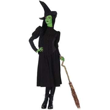 Elphaba Witch Adult Costume Small - adult halloween costumes female Halloween