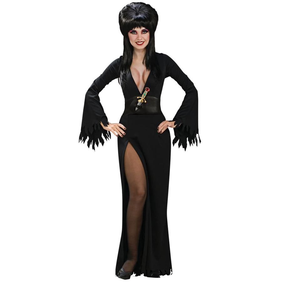 Elvira Adult Small - adult halloween costumes Elvira Costume female Halloween