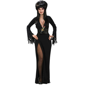 Elvira Grand Heritage Medium - adult halloween costumes Elvira Costume female