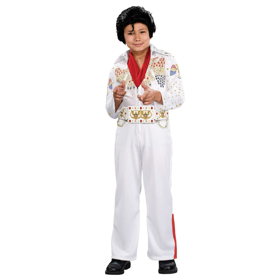 Elvis Deluxe Boys Costume Md - 60s - 70s Costume Boys Costumes Elvis Costume