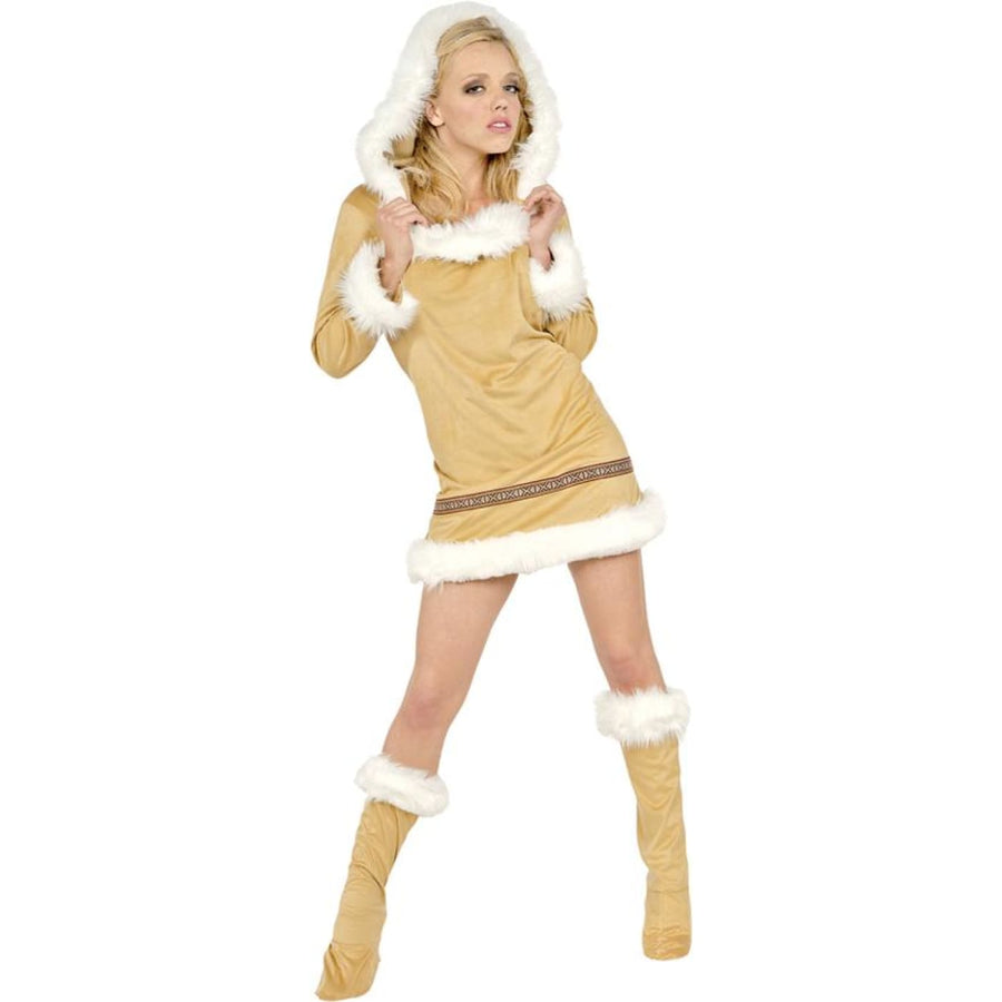Eskimo Kisses Sm - adult halloween costumes Caveman & Primitive Costume female