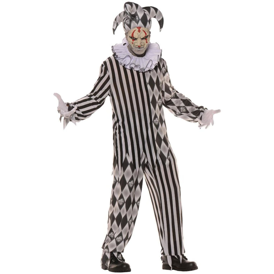 Evil Harlequin Teen Costume - Clown & Mime Costume clown costumes Halloween