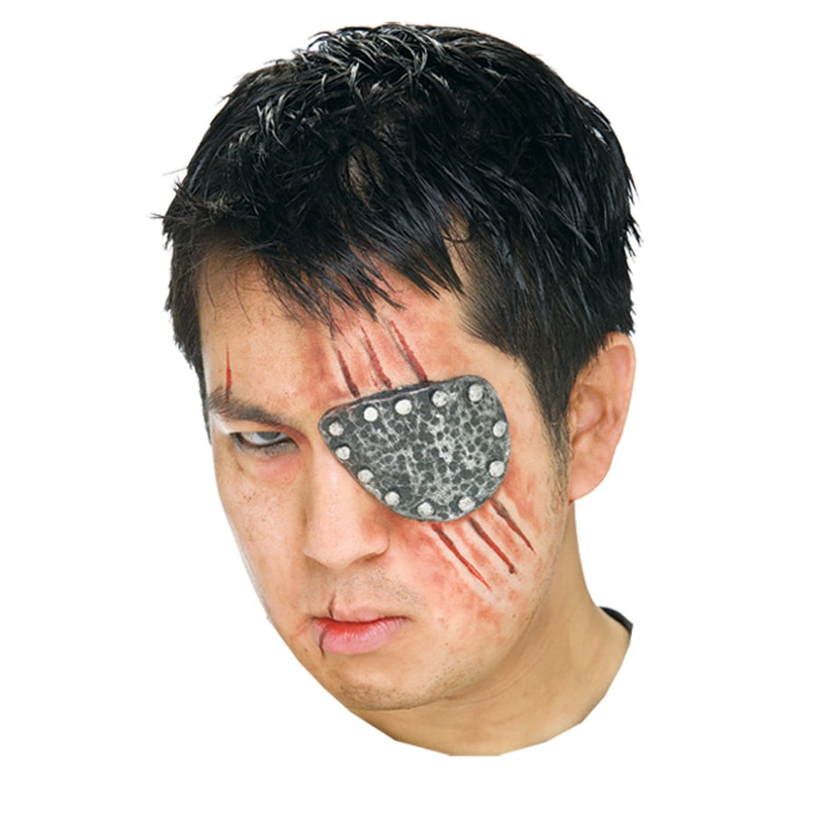 Eye Patch Metal Prosthetic - Costume Makeup Halloween costumes Halloween makeup