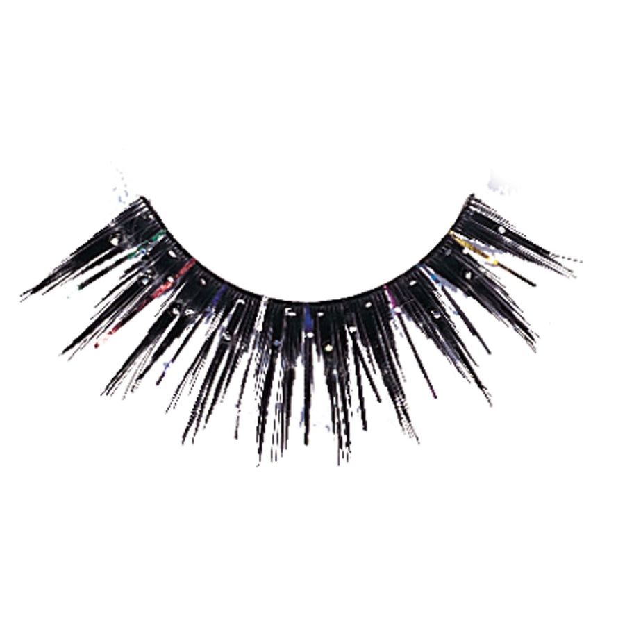 Eyelashes Black Glitter - Costume Makeup Halloween costumes Halloween makeup