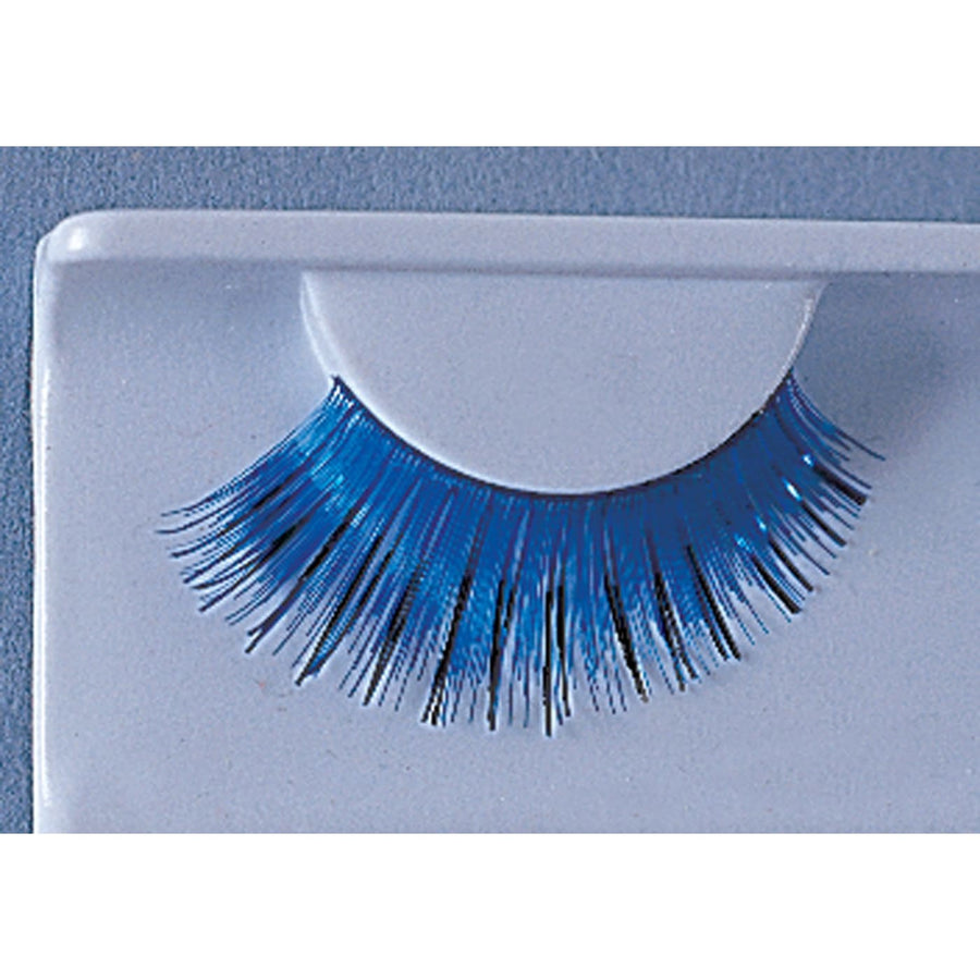 Eyelashes Blue With Black - Costume Makeup Halloween costumes Halloween makeup