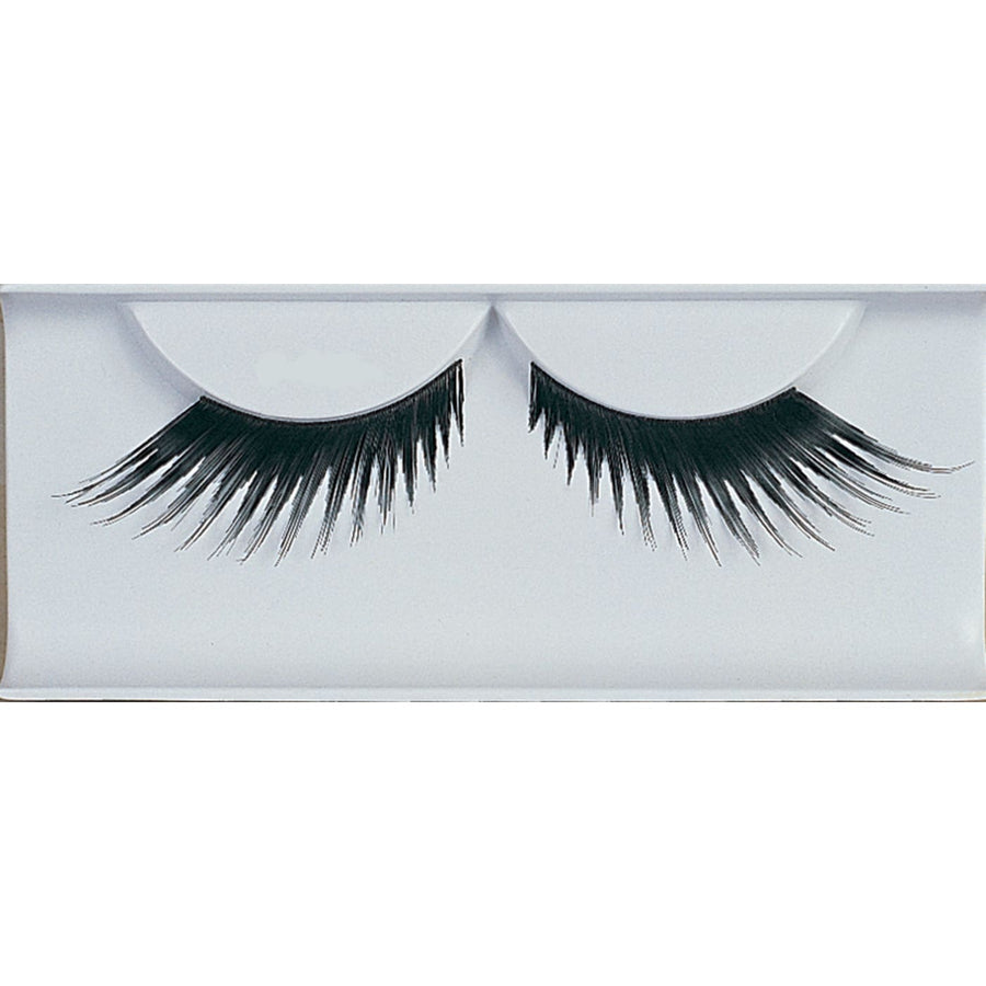Eyelashes Feather Black - Costume Makeup Halloween costumes Halloween makeup