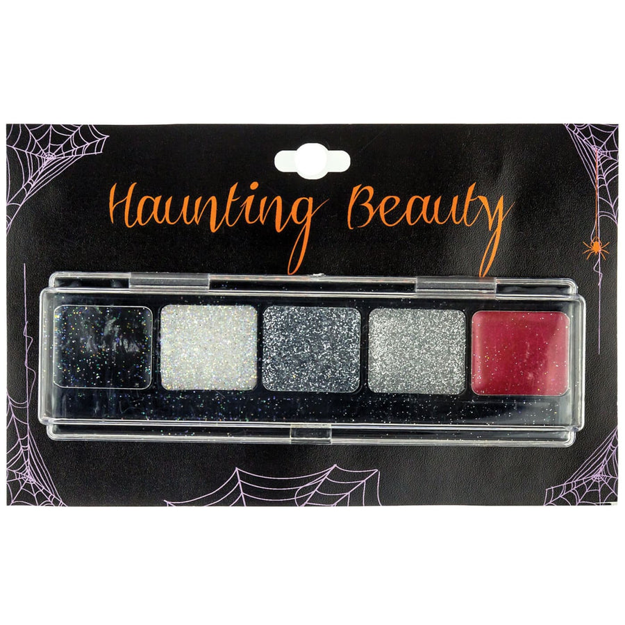 Eyeshadow Glitter With Bright Red - Costume Makeup Halloween costumes Halloween