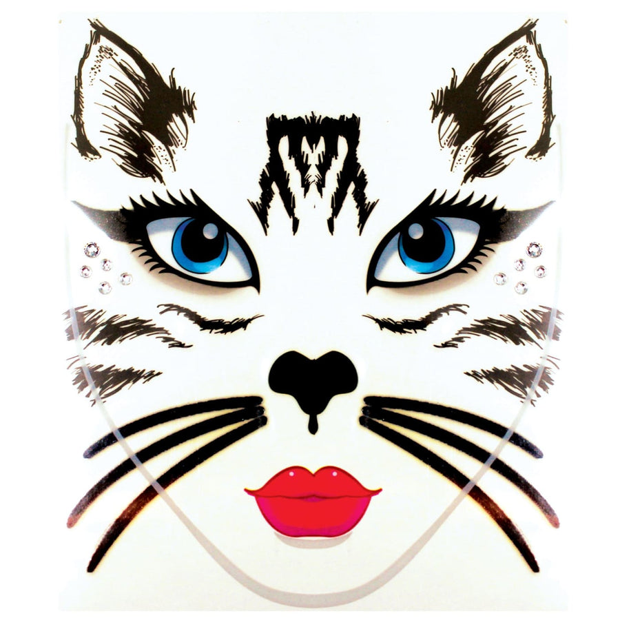 Face Decal Cat - Halloween costumes