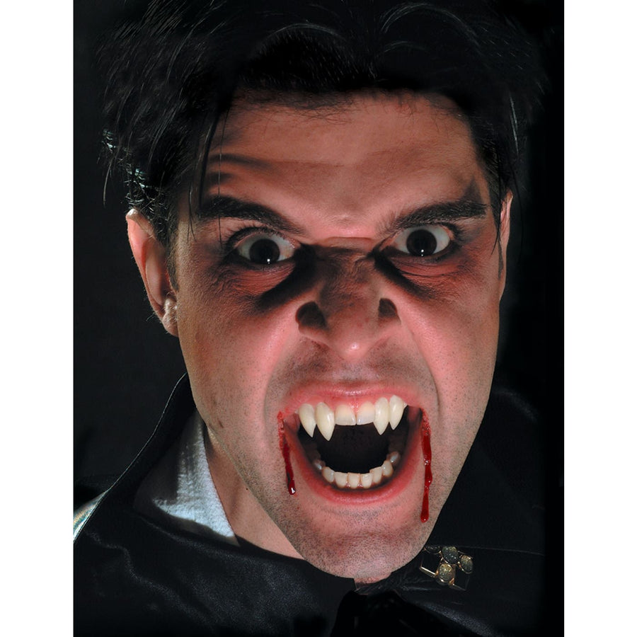 Fangs Upper Double Coffin - Costume Makeup Gothic & Vampire Costume Halloween