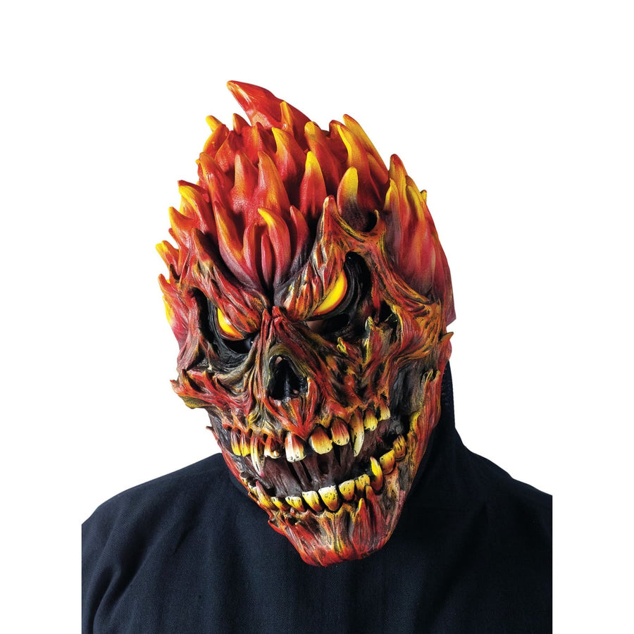 Fearsome Faces Mask Skull - Costume Masks Demon & Devil Costume Fearsome