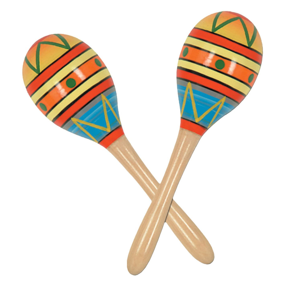 Fiesta Fun Party Maracas - Decorations & Props Halloween costumes haunted house