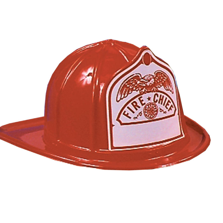 Fire Chief Hat Adult - Halloween costumes Hats Tiaras & Headgear Military &