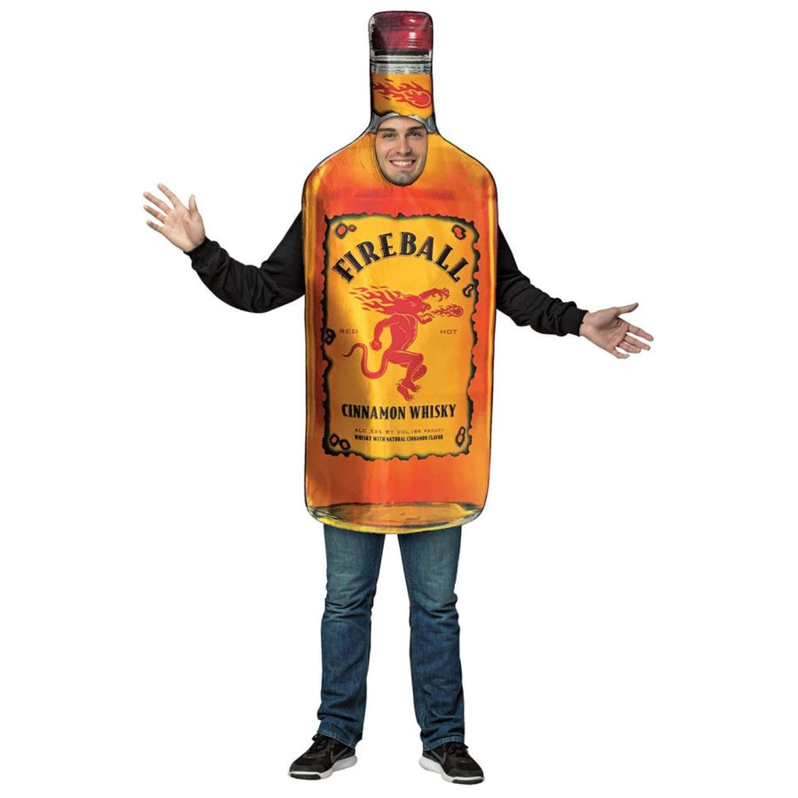 Fireball - Get Real Bottle Adult Costume - adult halloween costumes halloween