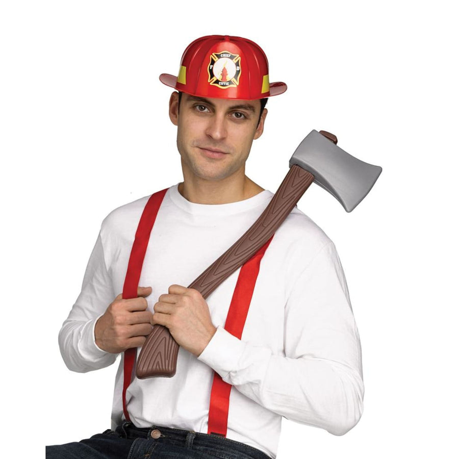 Firefighter Instant Adult Costume Accessory Kit - adult halloween costumes
