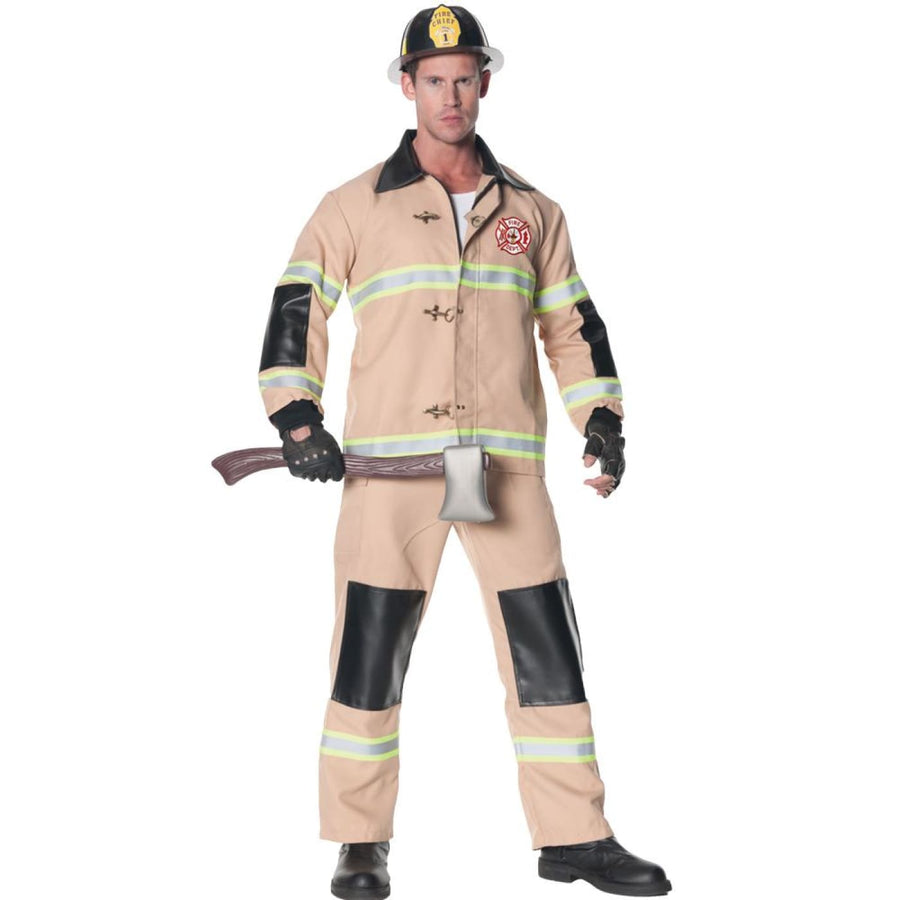 Firefighter Mens Costume Std - Firefighter Mens Costume Std Halloween costumes