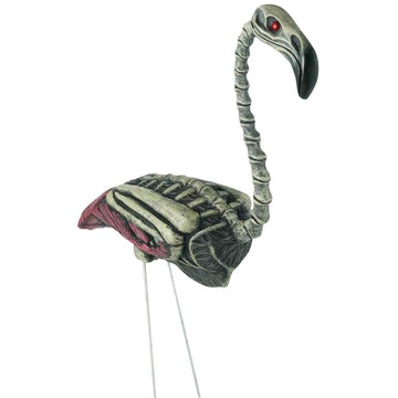 Flamingo Zombie Lawn Prop - Decorations & Props haunted house decorations