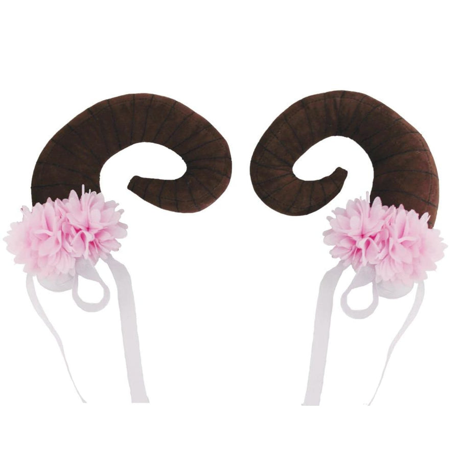 Floral Clustered Nymph Horns - Halloween costumes New Costume