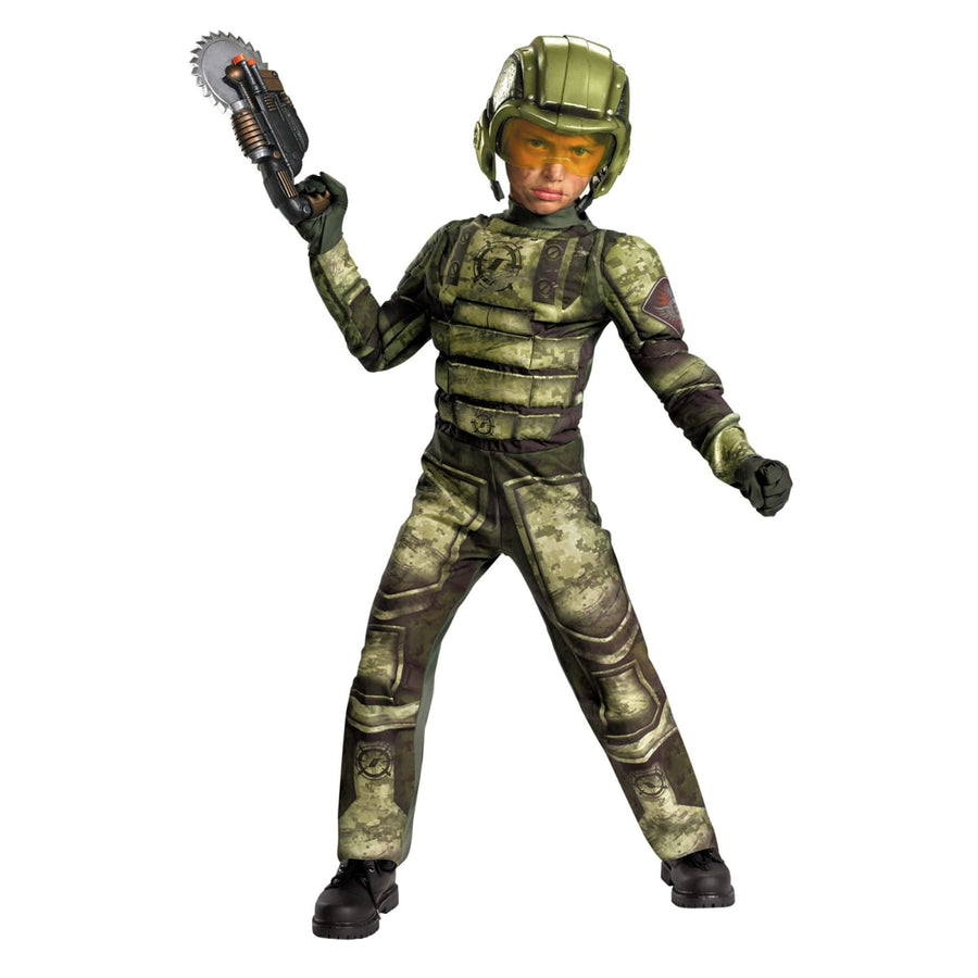 Foot Soldier Boys Costume Muscle 7-8 - Boys Costumes boys Halloween costume Foot
