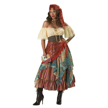 Fortune Teller Large - Fortune Teller & Gypsy Costume Halloween costumes Womens