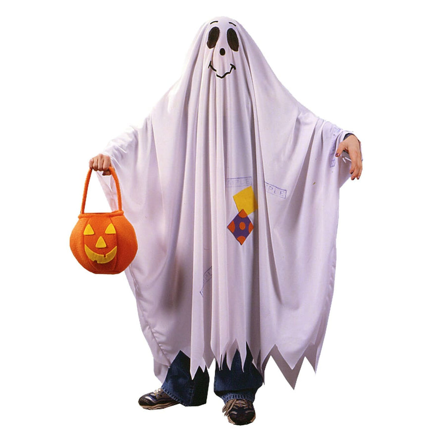 Friendly Ghost Kids Costume Sm - Boys Costumes boys Halloween costume Ghoul