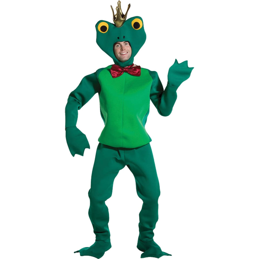Frog Prince Adult Mascot Costume - adult halloween costumes Animal & Insect