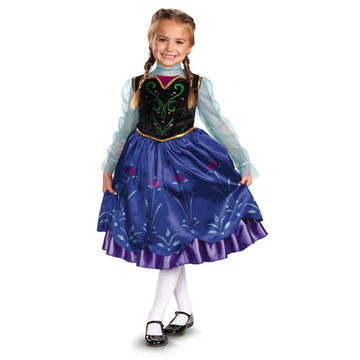 Frozen Anna Kids Costume Kids Costume Medium 7-8 - Disney Costume Fairytale