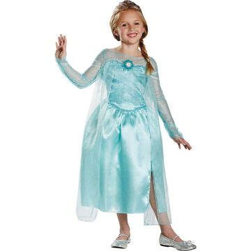 Frozen Elsa Snow Queen Kids Costume Medium 7-8 - Fairytale Costume Frozen