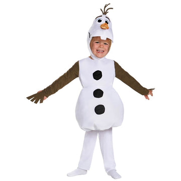 Frozen Olaf Classic Boys Costume Small 4-6 - Boys Costumes boys Halloween