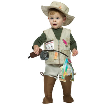 Future Fisherman Toddler Costume 18-24 Months - Halloween costumes Toddler