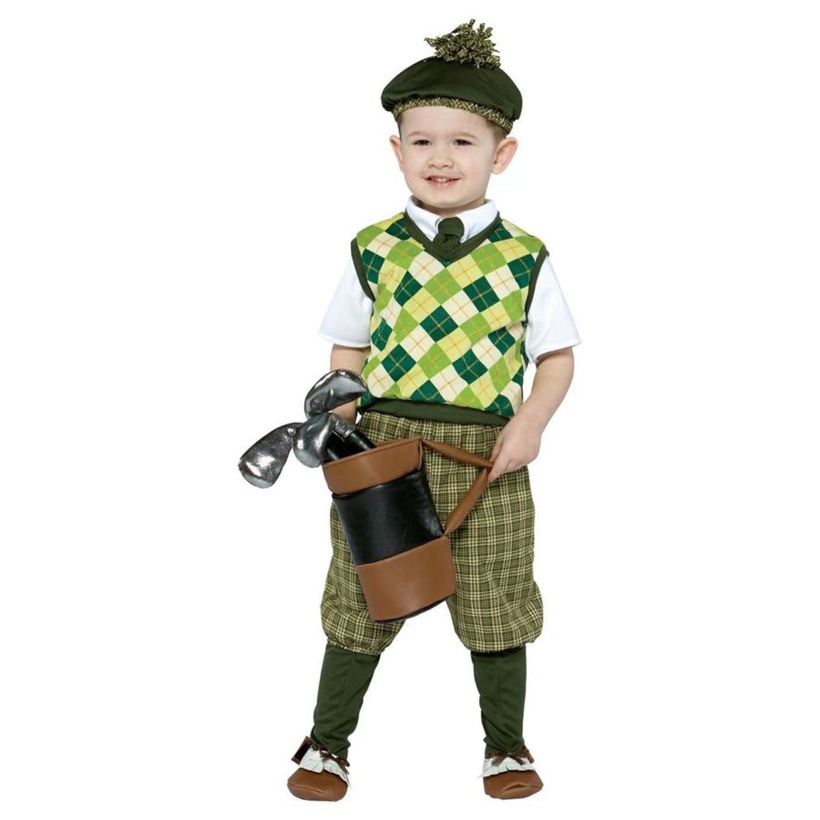 Future Golfer Toddler Costume 3T-4T - Halloween costumes Toddler Costumes