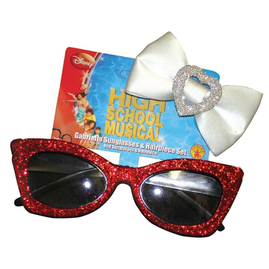 Gabriella Sunglass Headpiece - Glasses Gloves & Neckwear Halloween costumes High